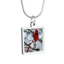 CAW1010SF Silver Square Necklace