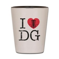 I Heart DG Shot Glass