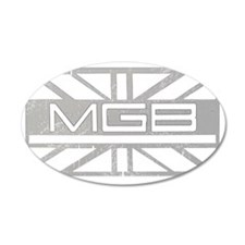 MGB Vintage for dark Wall Decal