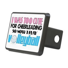 volleyball cute2 Rectangular Hitch Cover