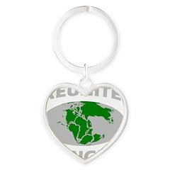 reunitepangeadark Heart Keychain