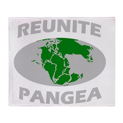 reunitepangeadark Throw Blanket