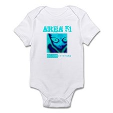 Area 51 Saucer Watchers Infant Bodysuit