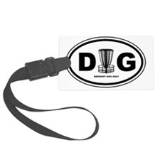 DG Oval Luggage Tag