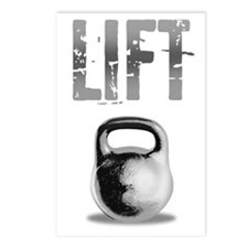 Kettlebell_Routine_dark Postcards (Package of 8)