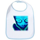 Blue Alien Bib