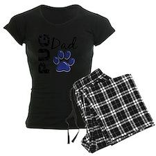 D Pug Dad 2 Pajamas