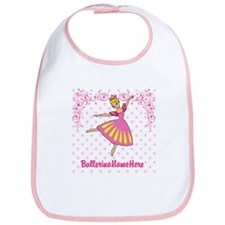 Personalize Your Ballerina Girl! Bib