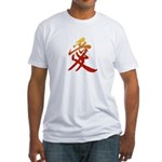 Kanji Love Tight T-Shirt - Japanese T-shirt