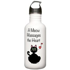 Meow_massages Water Bottle