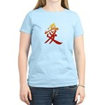 Kanji Love Women's Yellow T-Shirt - Kanji T-Shirts