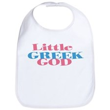 Little Greek God Bib