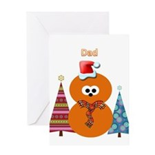 Zingy Christmas Greeting Card (Dad)