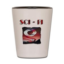 sci-fi 2 Shot Glass
