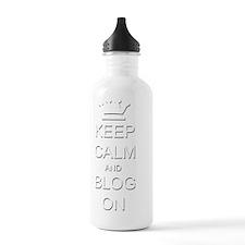 KC Blog b Water Bottle