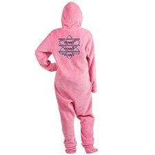 PENNY92310dis Footed Pajamas