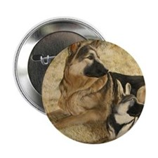 """gsd-and-puppy 2.25"""" Button"""