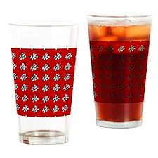 checks Drinking Glass