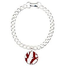 4velo_red Charm Bracelet, One Charm