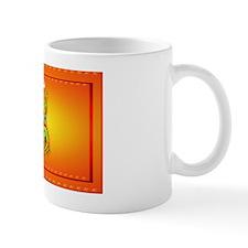 Wall Peel Flaming Dragon Mug