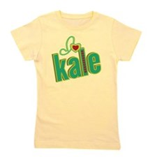 i-heart-kale Girl's Tee
