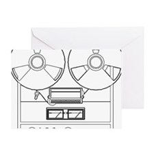 reel to reel Greeting Card