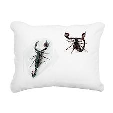 Prank Scorpion Flip Flop Rectangular Canvas Pillow