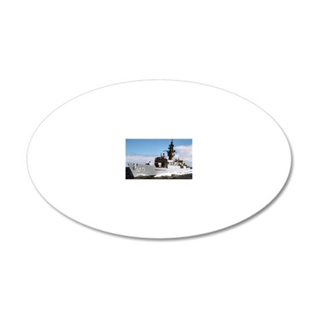 badger ff rectangle magnet 20x12 Oval Wall Decal