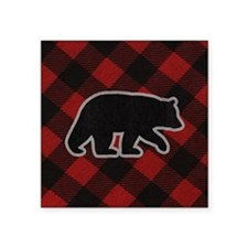 "bearwallet Square Sticker 3"" x 3"""