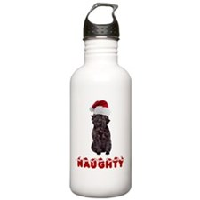 Naughty Affenpinscher Water Bottle