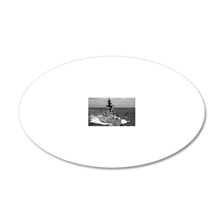 bowen ff rectangle magnet 20x12 Oval Wall Decal