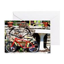 Spiderman_Bike_II Greeting Card