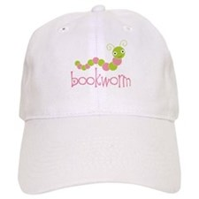 Bookworm Pink and Green Hat