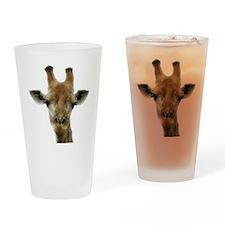 Giraffe Drinking Glass