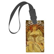 Dreams by Alphonse Mucha Luggage Tag
