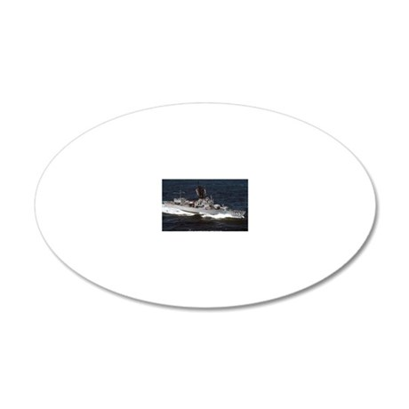 davidson ff rectangle magnet 20x12 Oval Wall Decal