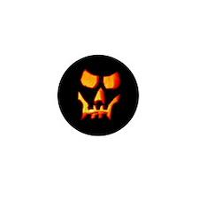 Spooky Halloween Skull Mini Button (10 pack)