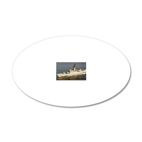 downes ff large framed print 20x12 Oval Wall Decal