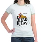 Steak & BJ Day Jr. Ringer T-Shirt