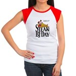 Steak & BJ Day Women's Cap Sleeve T-Shirt