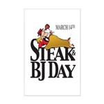 Steak & BJ Day Mini Poster Print