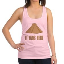 It Ends Here Racerback Tank Top