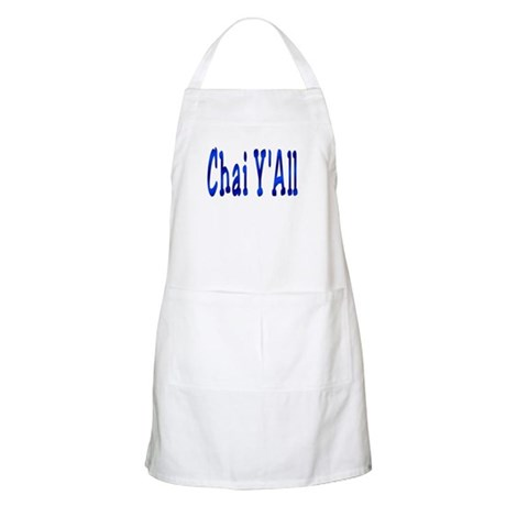 Chai Y'All Hi BBQ Apron
