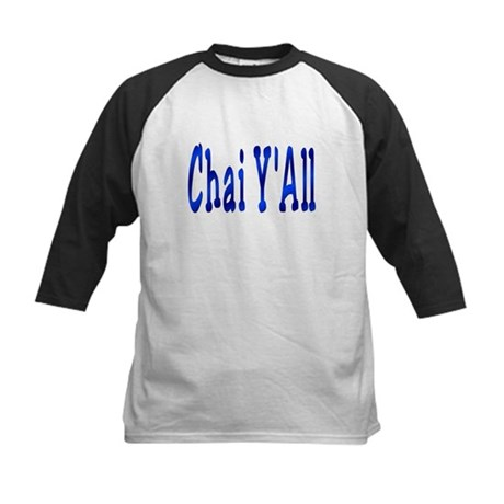 Chai Y'All Hi Kids Baseball Jersey