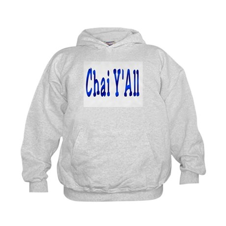 Chai Y'All Hi Kids Hoodie