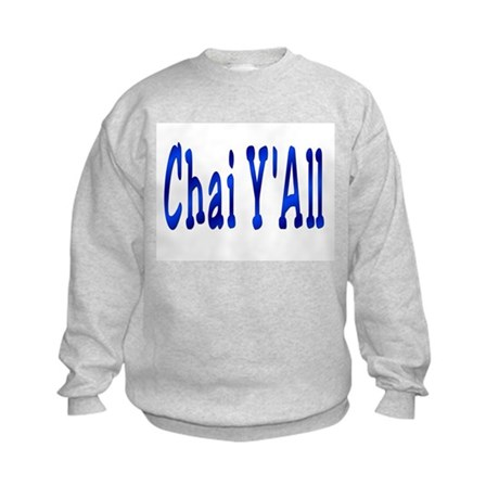 Chai Y'All Hi Kids Sweatshirt