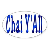 Chai Y'All Hi Oval Decal