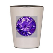 FauxAmethystFeb Shot Glass