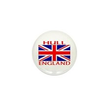 Cute Hull uk Mini Button (10 pack)