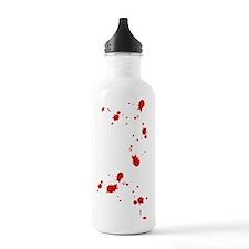 blood-spatter Water Bottle
